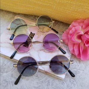 Xs Women Multi-Color Round Sunglasses